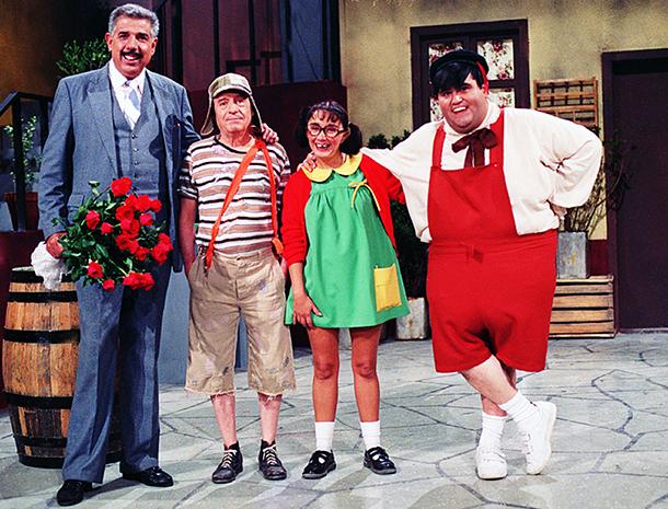 Chespirito, Ruben Aguirre, Rubén Aguirre, Roberto Gómez Bolaños, Chavo del Ocho