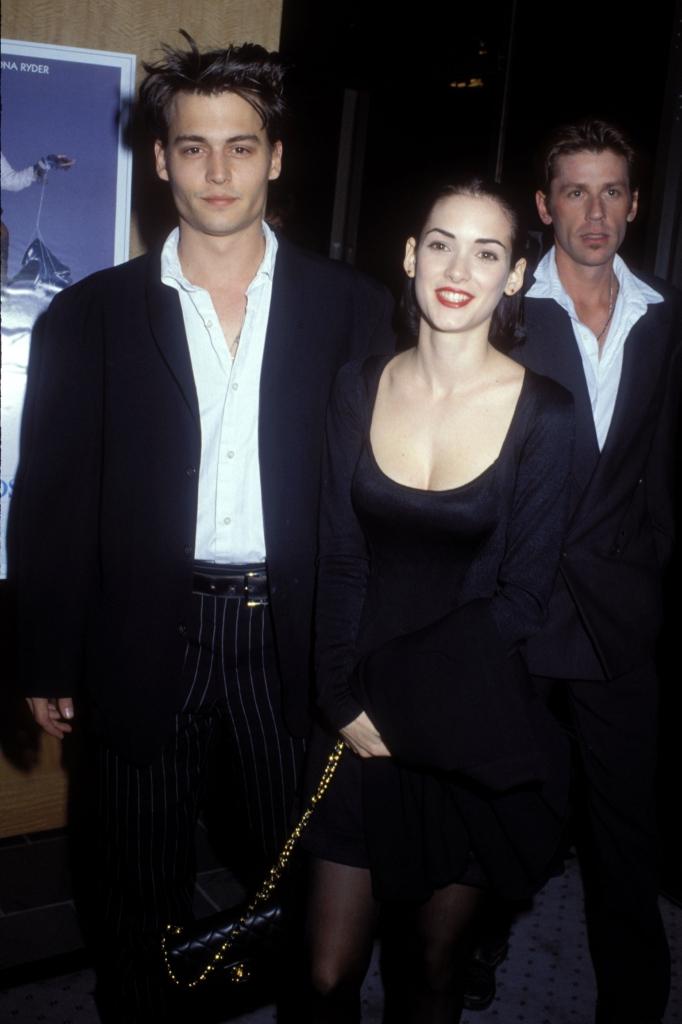 Johnny Depp y Winona Ryder