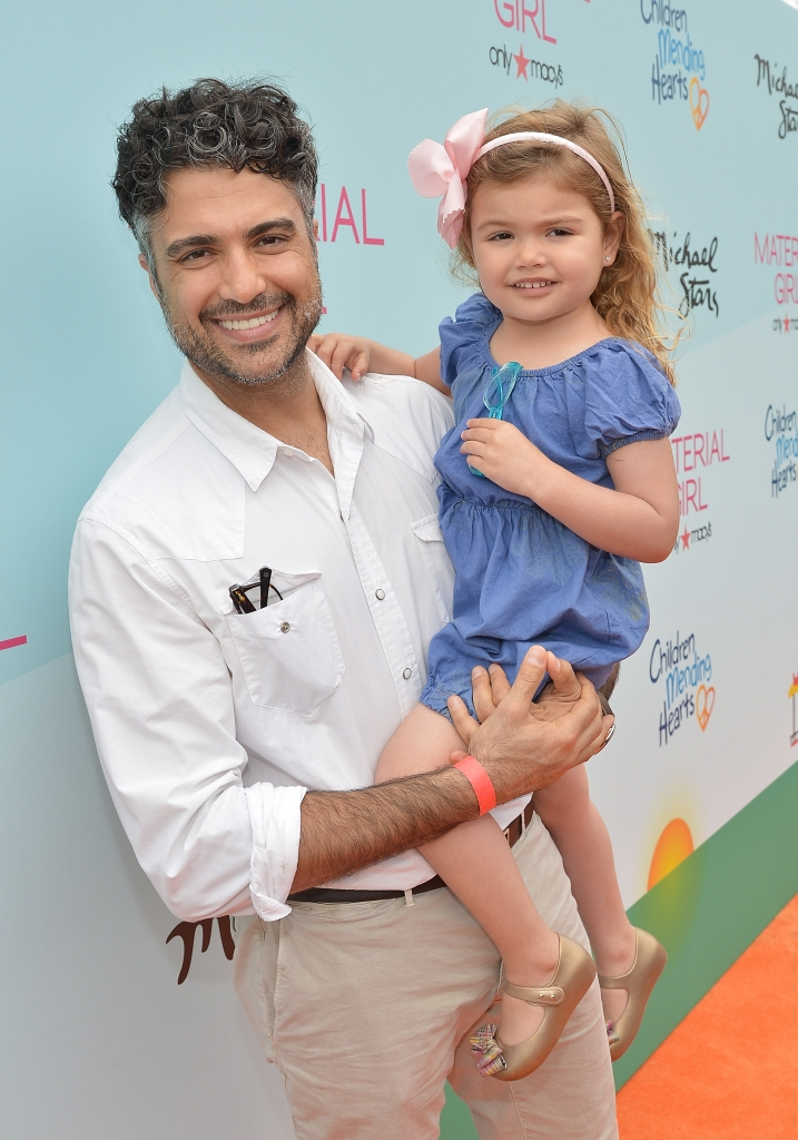 Jaime Camil con su hija Elena