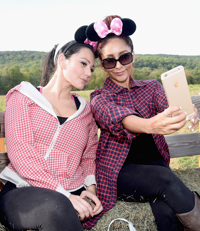 Jenni 'JWoww' Farley and Nicole 'Snooki' Polizzi