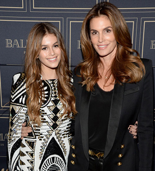 Cindy Crawford y Kaia gerber, bolso, marc jacobs, diseno, parches
