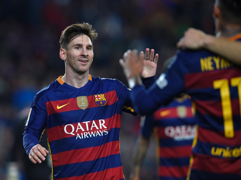 Ezequiel Lavezzi, Lionel Messi, Luis Suarez