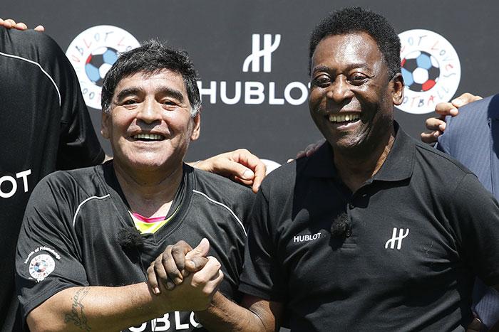 Diego Maradona, Pele