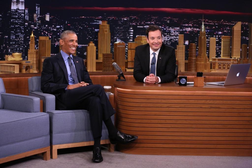 Obama en Jimmy Fallon