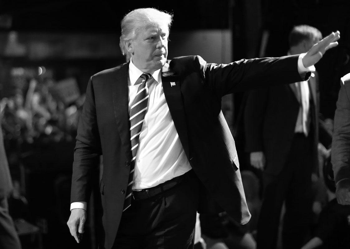 Metidas de pata de Trump