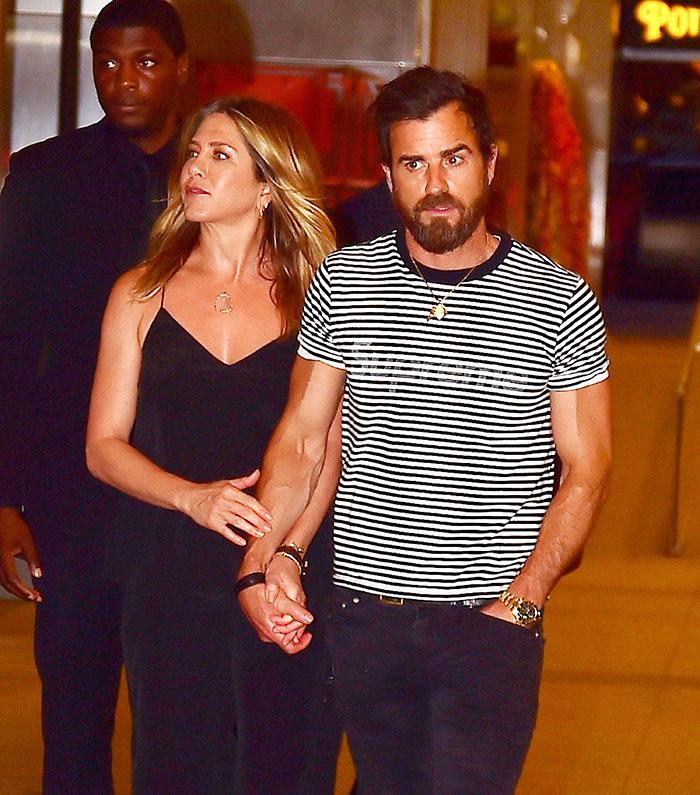 Jennifer Aniston , Justin Theroux