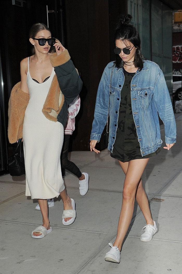 Kendall Jenner, Gigi Hadid