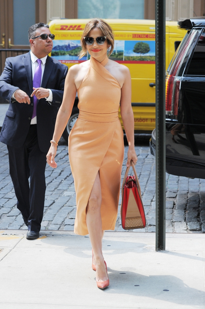 Jennifer Lopez y Leonardo Dicaprio