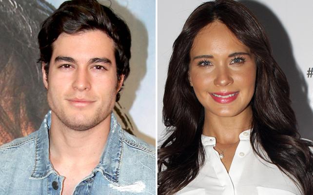 Danilo Carrera y Adriana Louvier