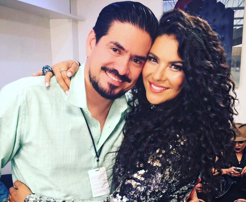 Litzy y Jaime Segura