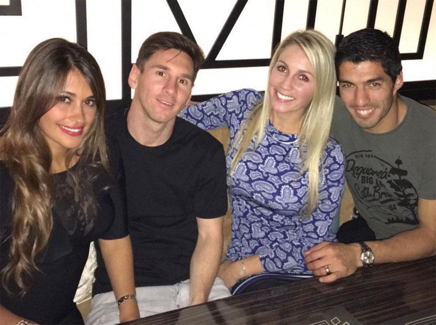 Leonel Messi momentos familiares