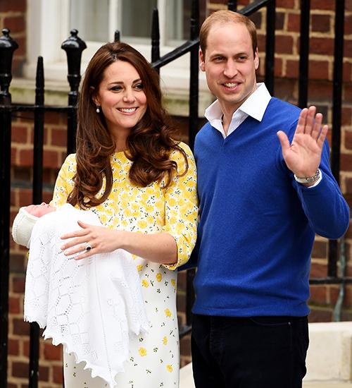 Prince William & Kate Middleton, princesa charlotte