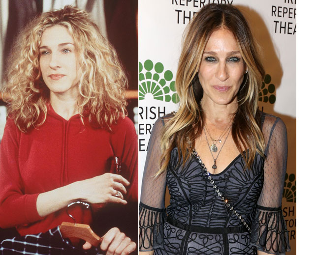 El antes y después del elenco Sex in the City