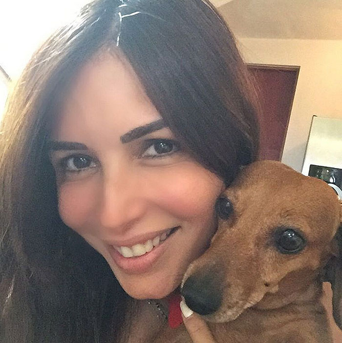 GISELLE BLONDET, perritos