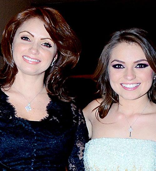 Angélica Rivera y Sofía Castro