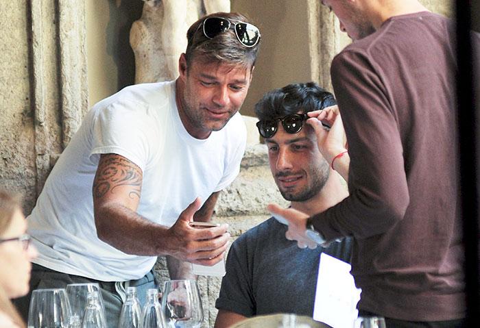 Ricky Martin , Jwan Josef