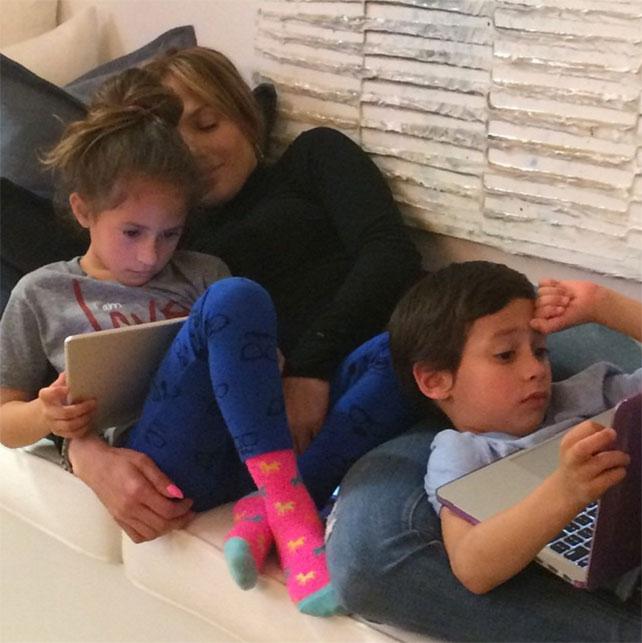 La vida familiar de J.Lo, Jennifer López