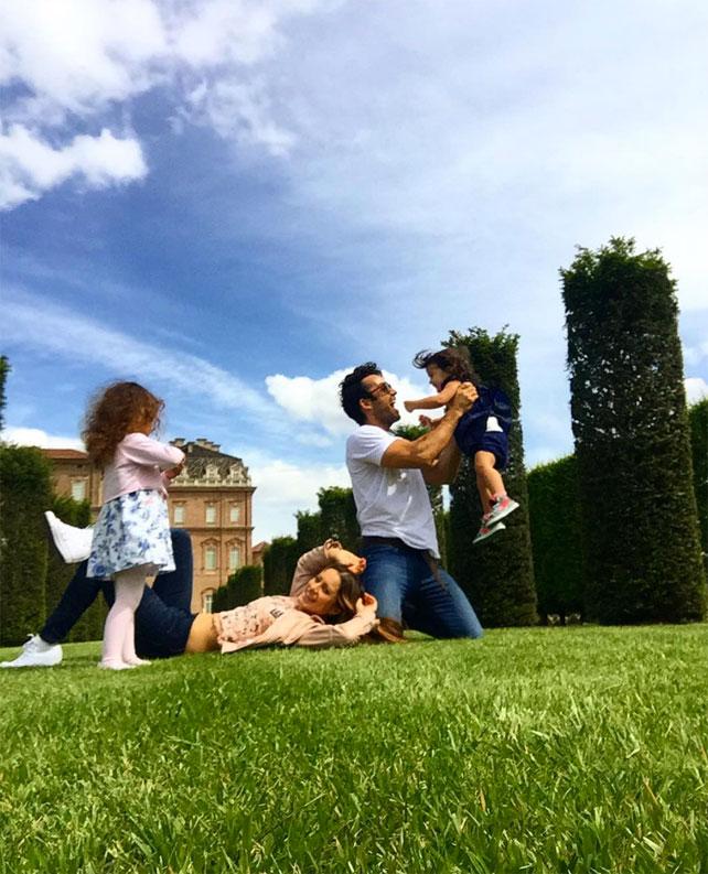Lola Ponce, Aarón Díaz, vida familiar