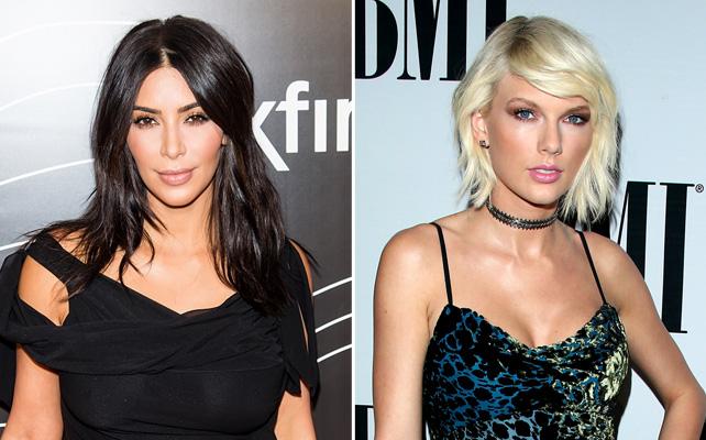 Kim Kardashian y Taylor Swift