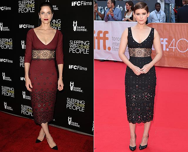Dos mujeres, un vestido, Amanda Peet, Kate Mara