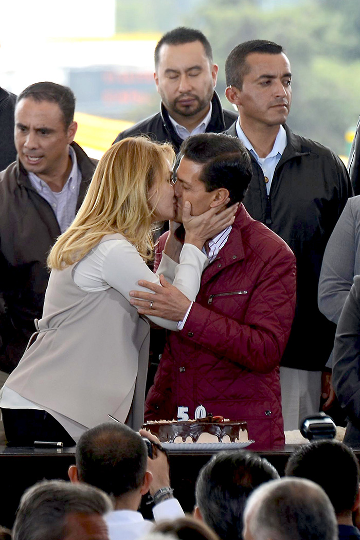 Angélica Rivera, Enrique Peña Nieto