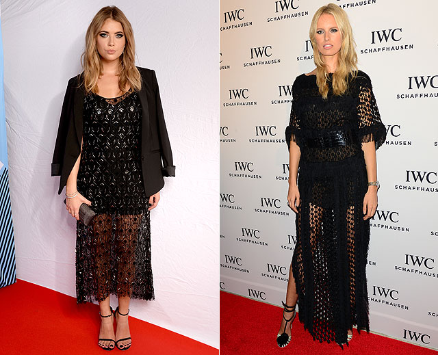 Dos mujeres un vestido, Ashley Benson, Karolína Kurková