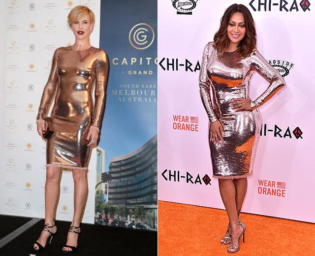Dos mujeres un vestido, Charlize Theron, La La Anthony
