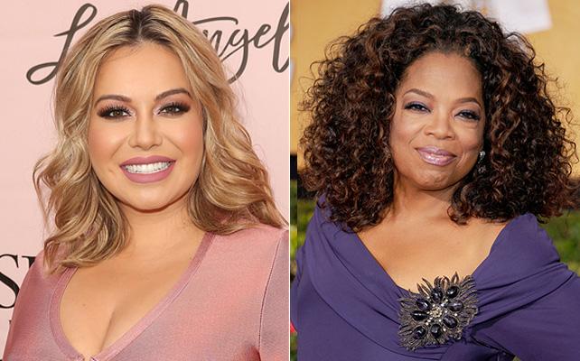 Chiquis y Oprah Winfrey
