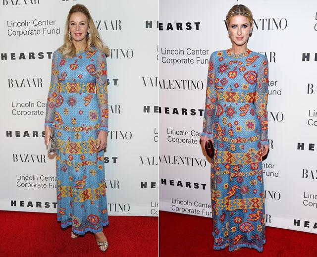 Dos mujeres un vestido, Dee Ocleppo, Nicky Hilton