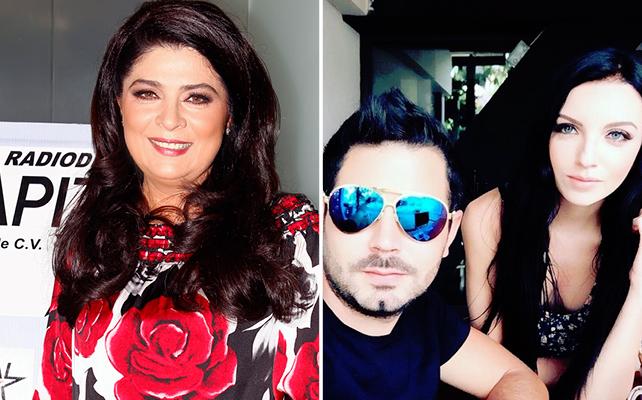 Victoria Ruffo y José Eduardo Derbez con su novia Bárbara Escalante