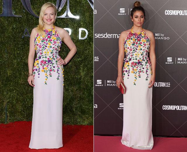 Dos mujeres un vestido, Elisabeth Moss, Blanca Suárez