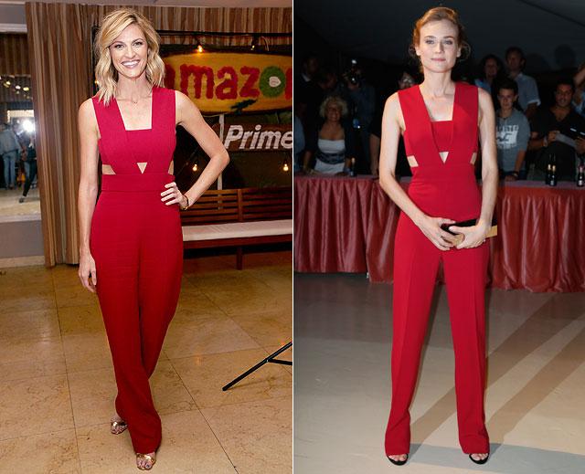 Dos mujeres un vestido, Erin Andrews, Diane Kruger