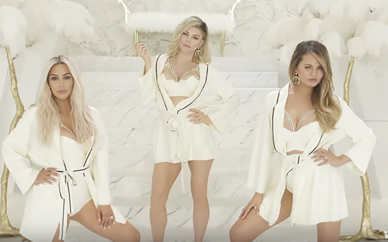 Kim Kardashian, Fergie y Chrissy Teigen