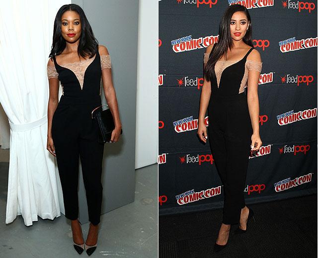 Dos mujeres un vestido, Gabrielle Union, Shay Mitchell