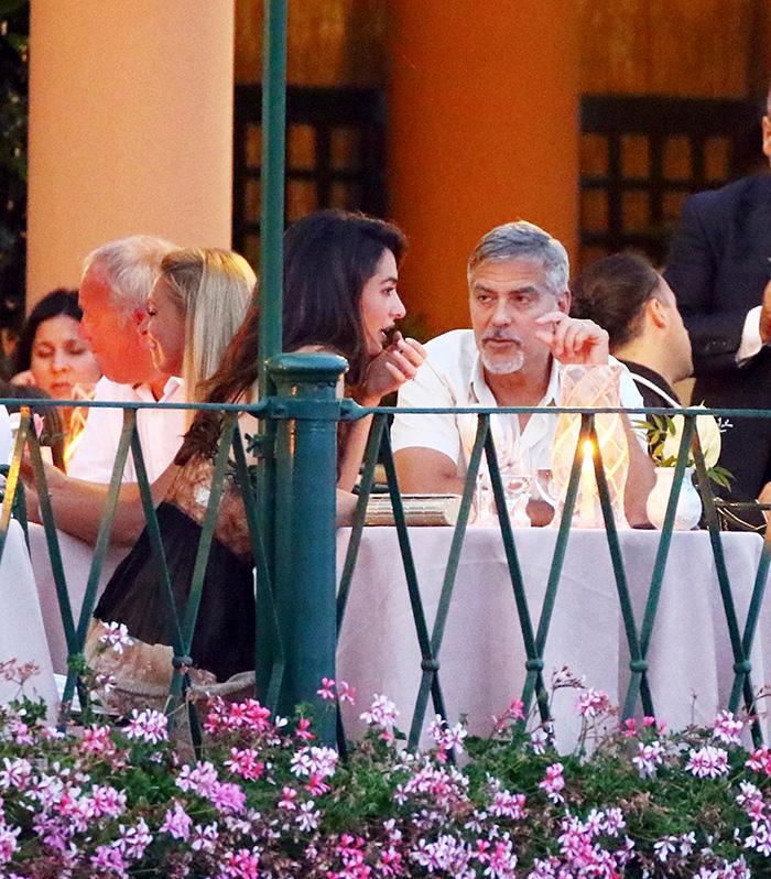 George Clooney y Amal Clooney