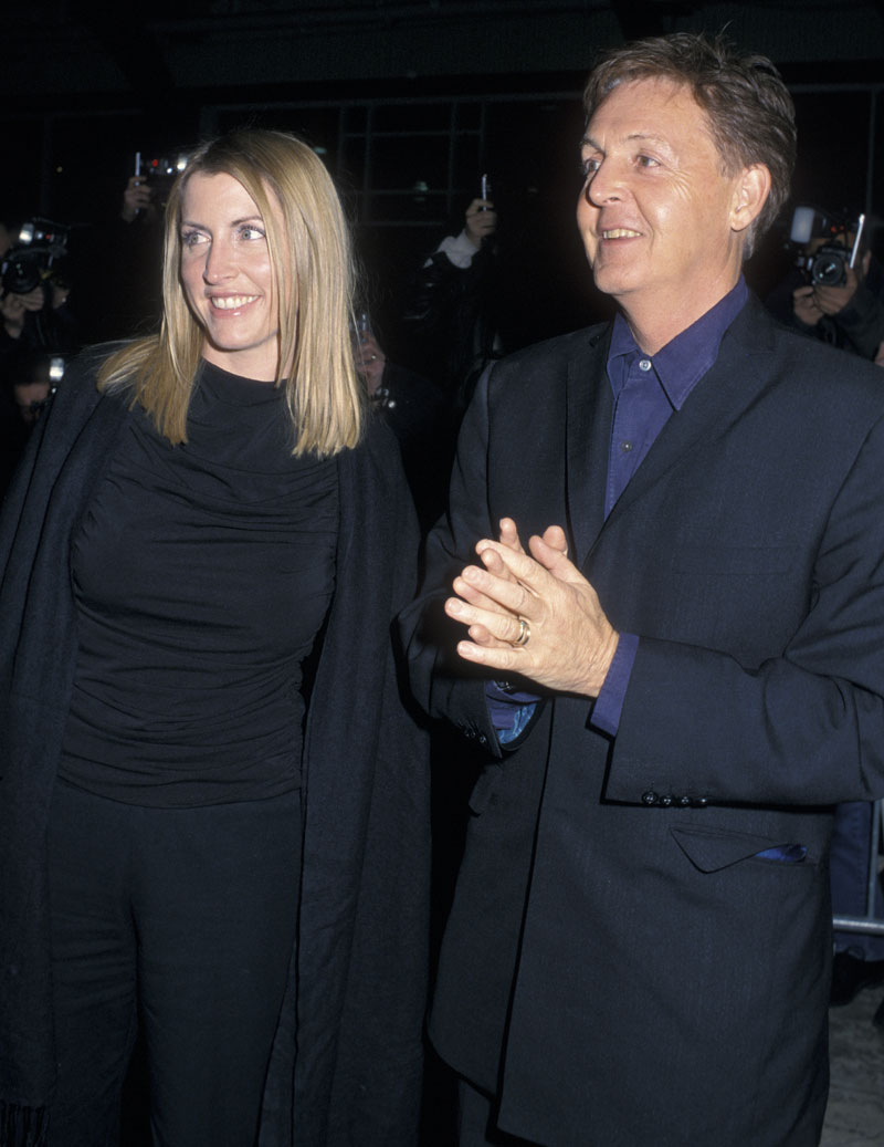 Paul McCartney & Heather Mills