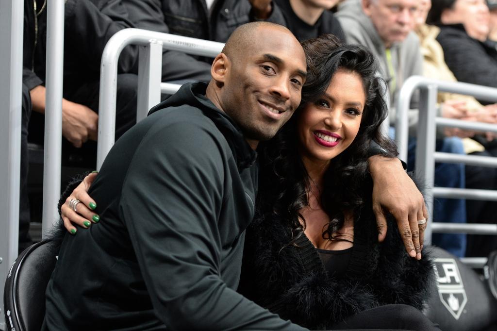 Kobe Bryant y Vanessa Bryant