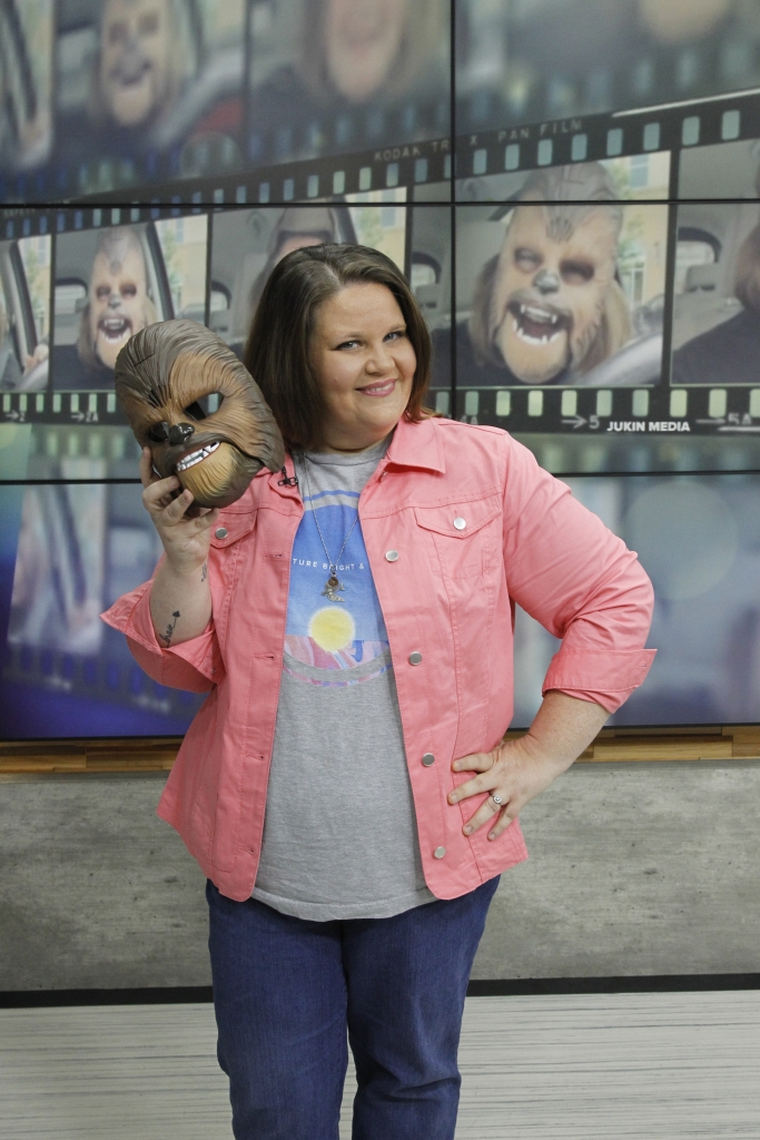Candace Payne, the 'Chewbacca Mom'
