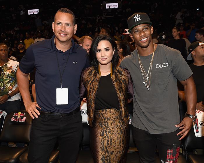 Alex Rodríguez, Demi Lovato , Víctor Cruz