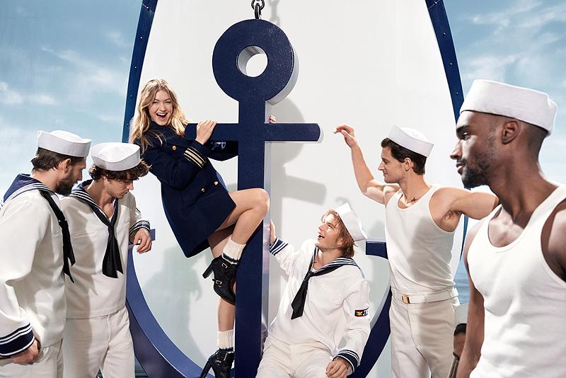 Gigi Hadid, perfume, Tommy Hilfiger, The Girl
