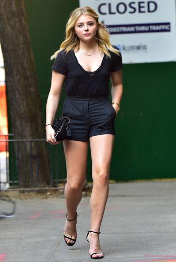 Chloe Grace Moretz, shorts