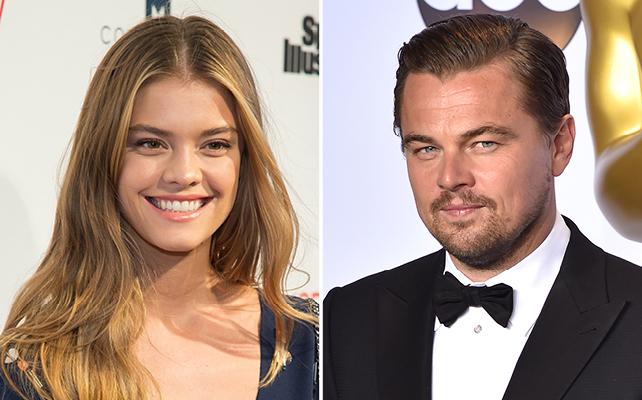 Nina Agdal y Leonardo DiCaprio