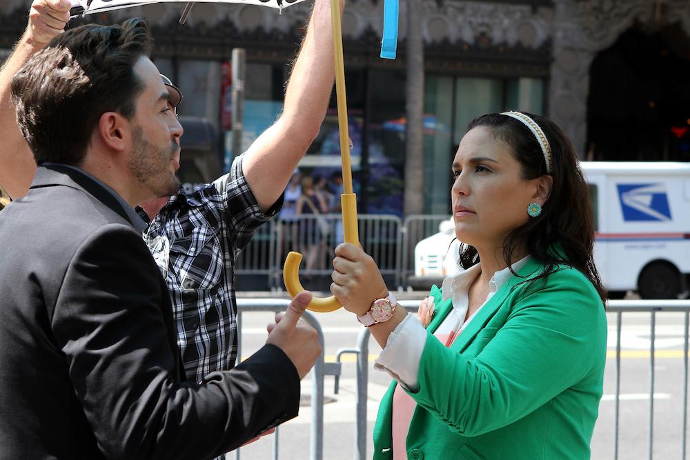 Angélica Vale y Juan Pablo Espinosa