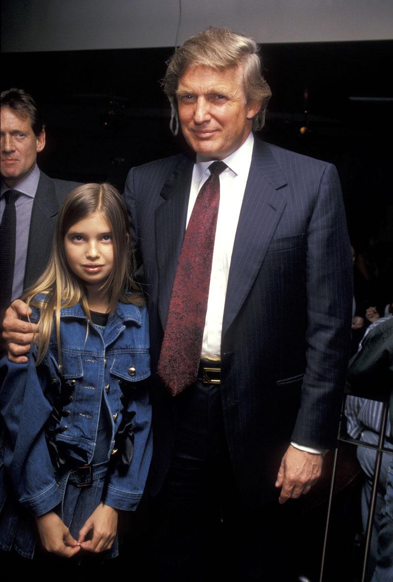 Ivanka Trump a través de los años
