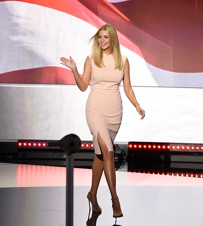 Vestido, Ivanka Trump