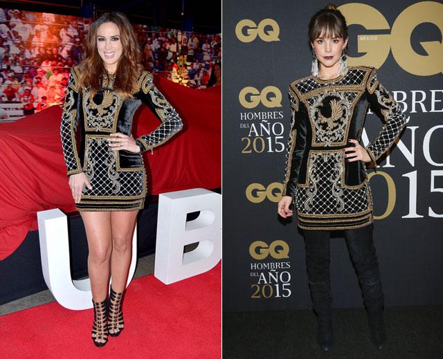 Dos mujeres un vestido, Jacqueline Bracamontes, Camila Sodi