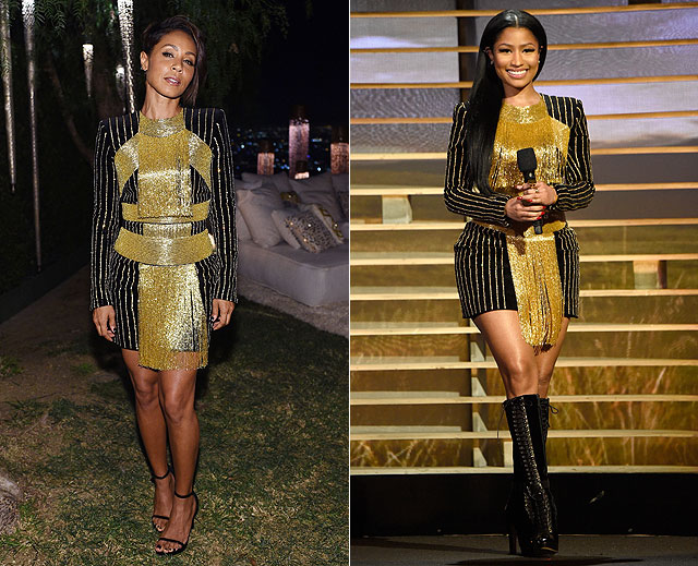 Dos mujeres un vestido, Jada Pickett-Smith, Nicki Minaj