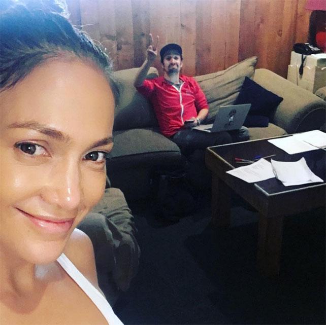 Jennifer López y Lin-Manuel Miranda