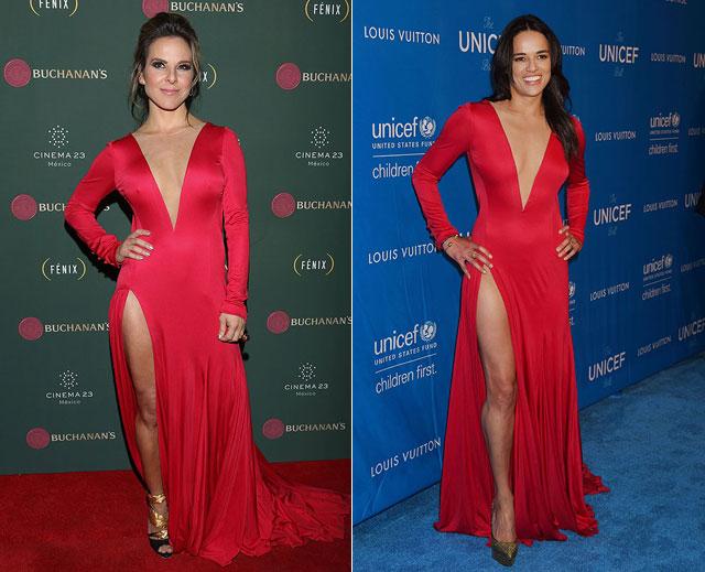 Dos mujeres un vestido, Kate del Castillo, Michelle Rodríguez