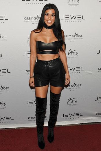 Kourtney Kardashian, shorts